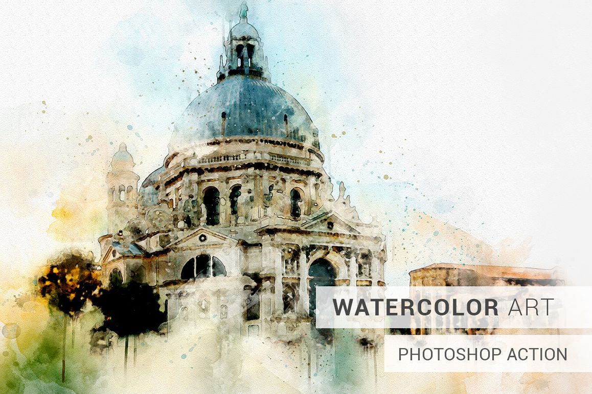 Watercolor Photoshop Action Fantastic Photoshop For Beginners