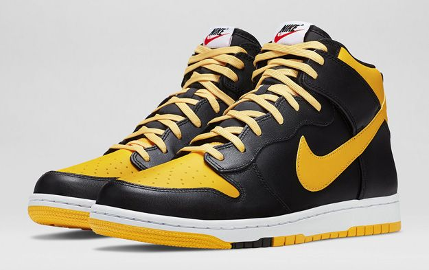 huge discount ac3ee f3d25 ... shopping nike dunk high cmft j pack university gold sneakers a1abe 1468c