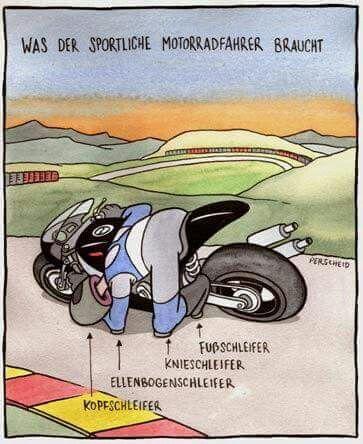 Pin Von Susanne Doehmann Auf Cartoons Cartoon Witze Motorrad Fahren Lustig