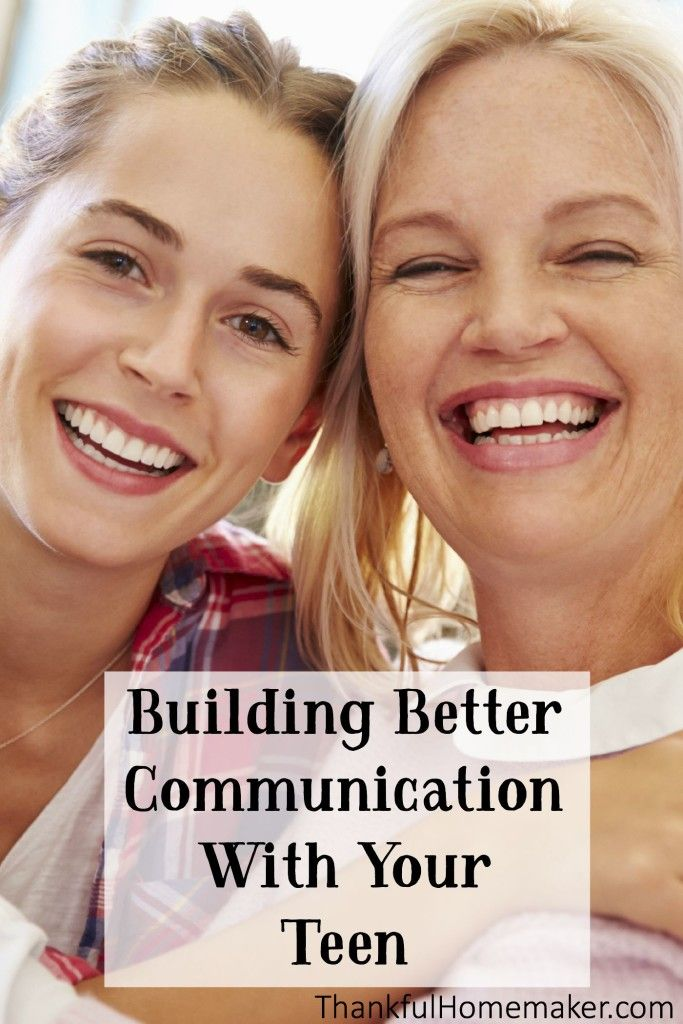 Building Better Communication With Your Teen Mferrell