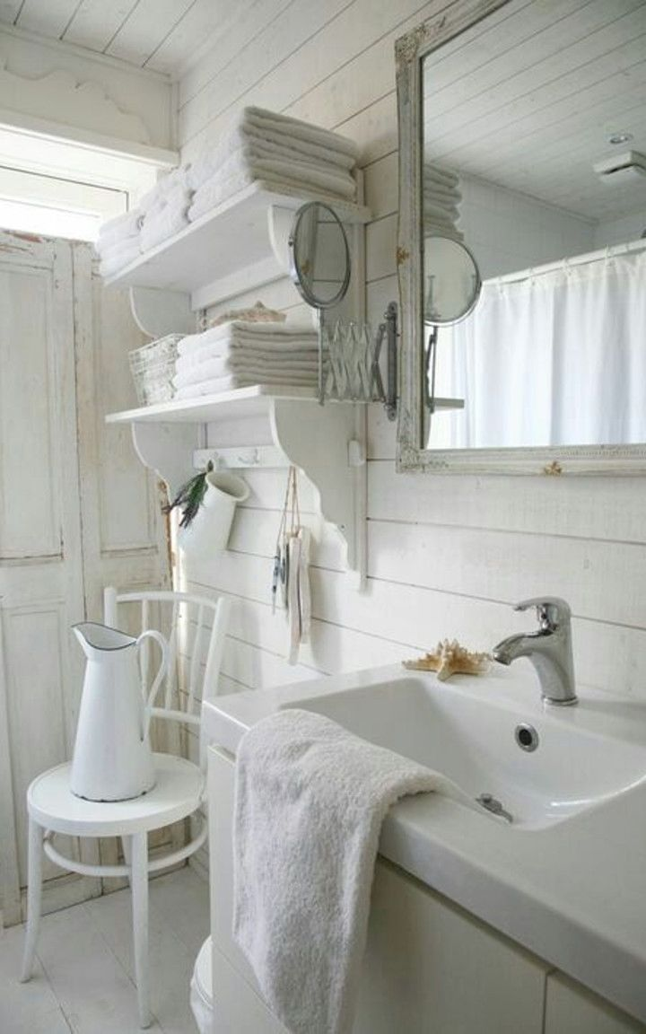 Awesome Shabby Chic Style Bathroom Projects You Can Do Yourself For ...