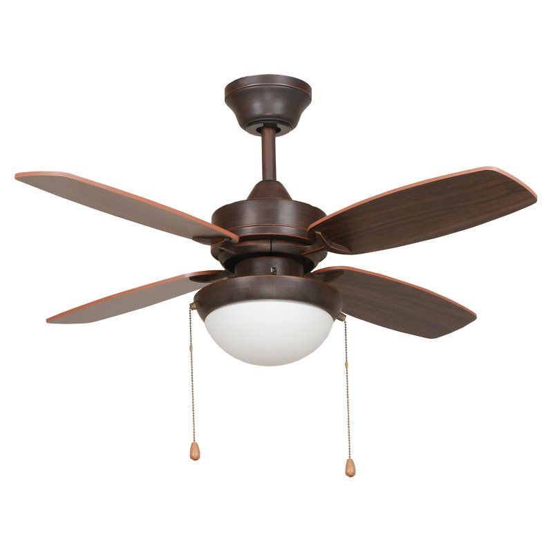 Yosemite Home Decor Ashley 36 In Indoor Ceiling Fan With Light