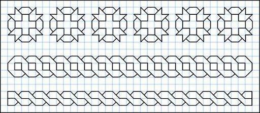 Cornicette Varie1 Jpg Imgmax 640 Geometric Drawing Graph Paper Art Graph Paper Drawings