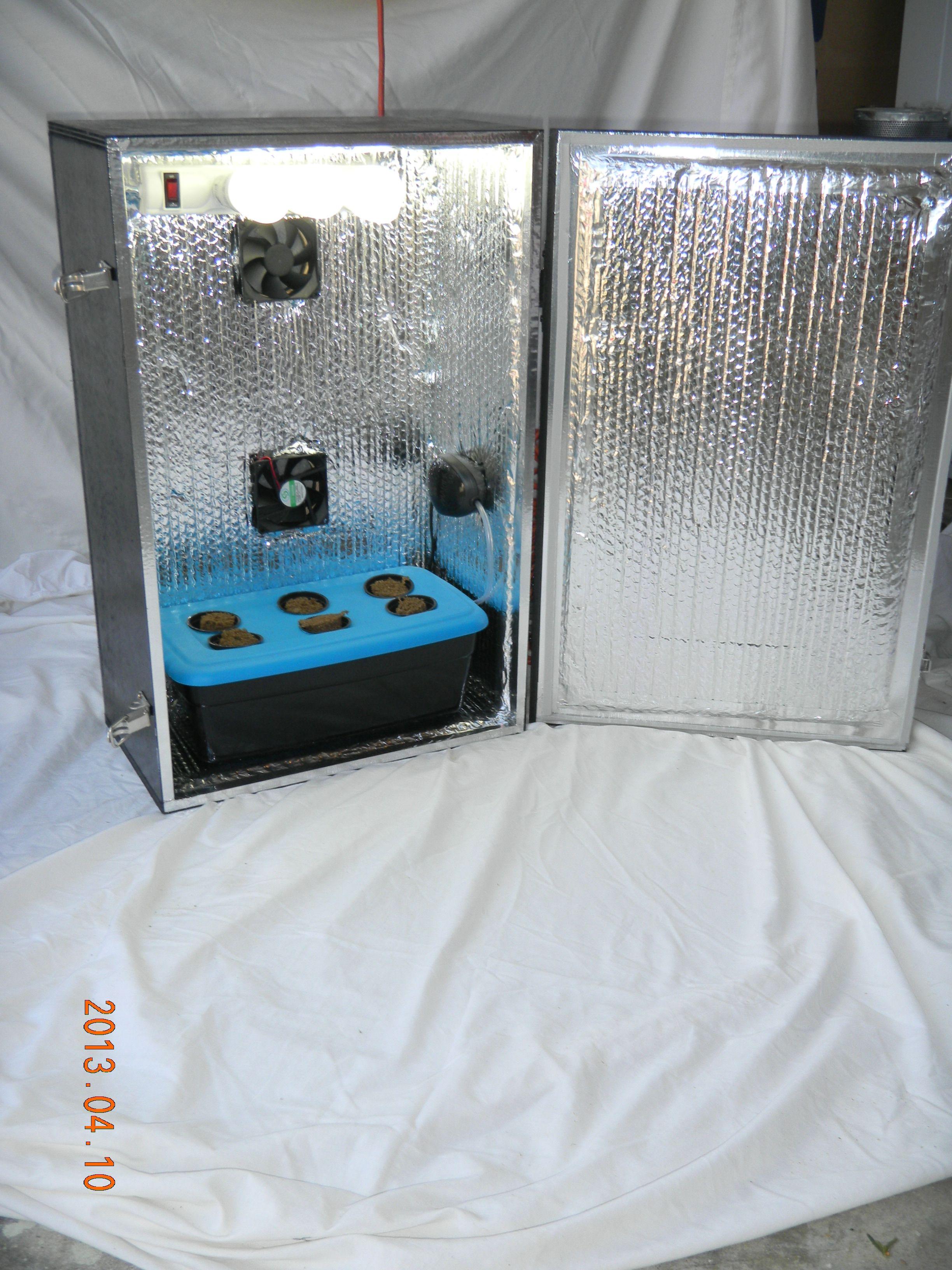 Lowryder Stealth Hydroponic Grow Box