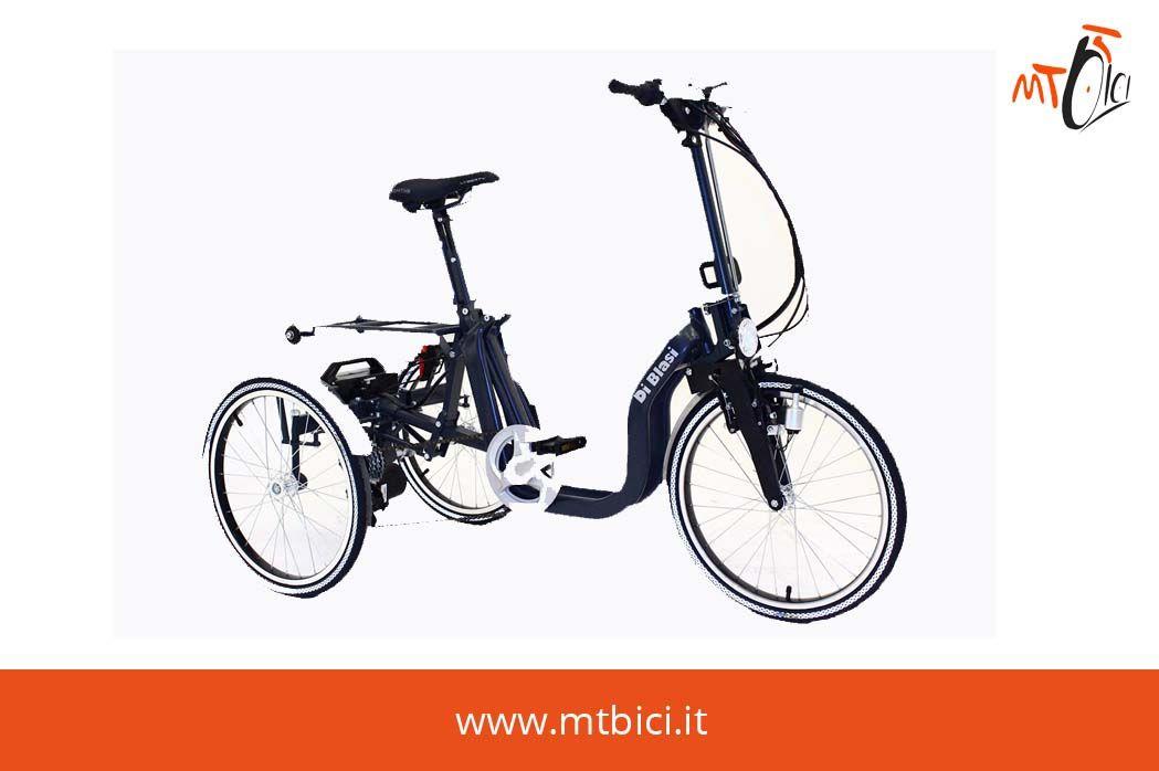Bici Pieghevole Di Blasi.Triciclo Pieghevole Adulti R32 Di Blasi Progettato Per Offrire Un
