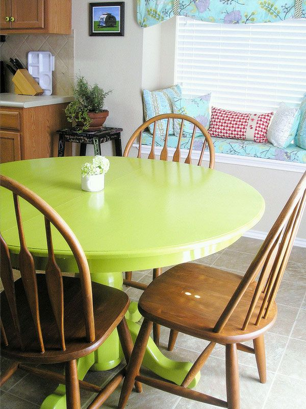 7 Paint Ideas to Transform a Dining Table
