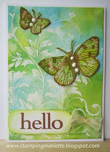 ATC Hello Spring | Flickr - Photo Sharing!