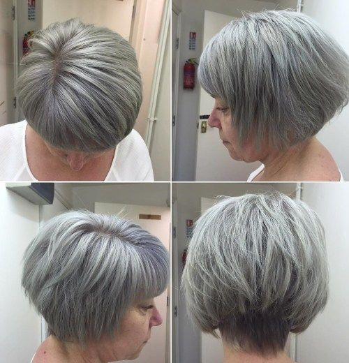 65 Gorgeous Gray Hair Styles Hair Styles Short Hair Styles Shampoo For Gray Hair