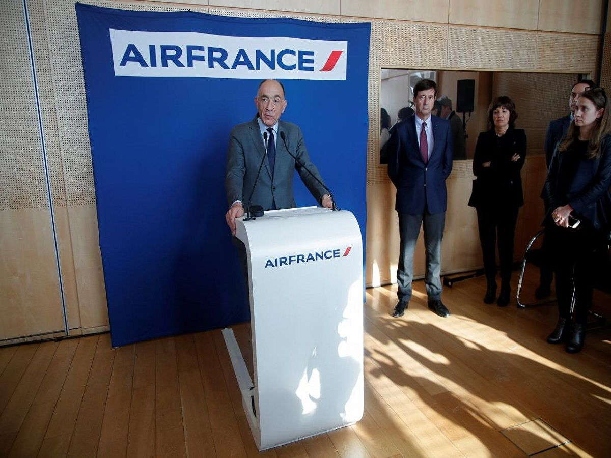 Air FranceKLM CEO to quit after staff reject pay deal