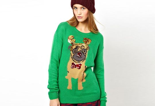 Fashion Find: Not Ugly Holiday Sweaters | @asos.com