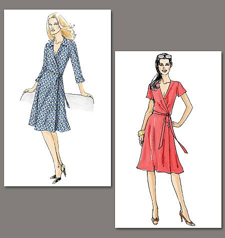 Very Easy Vogue V8379 (another DIY DVF and this one is cheaper than ...
