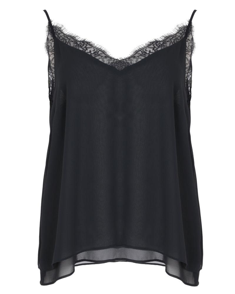 38757c4a3566 Τοπ με δαντελένια διακόσμηση — mat. XXL sizes — Γυναικεία Ρούχα ...