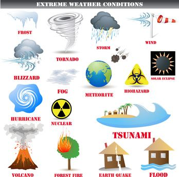 Desastres Naturales Blog Curso Ingles Com Natural Disasters Disasters Severe Weather