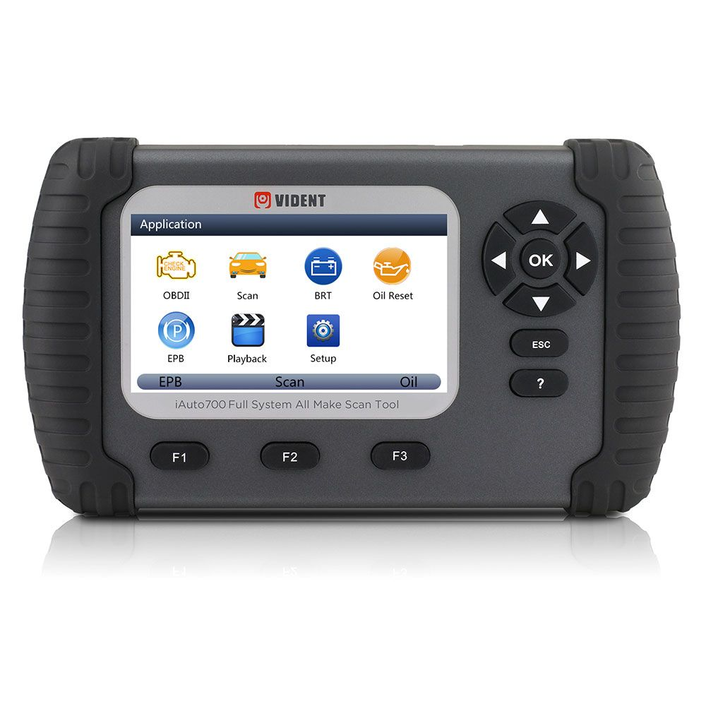 Vident Iauto700 Professional Car Full System Diagnostic Tool For Engine Oil Light Epb Eps Abs Airbag Reset Battery Configuration Usd 309 99 Obdtools Net