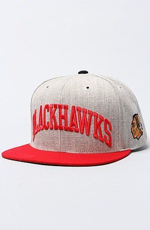 86f6067a251 Chicago Blackhawks Mitchell   Ness NHL Vintage Basic Arch Road Grey Snapback  Hat by Mitchell   Ness.  15.26. Mitchell   Ness The Chicago Blackhawks  Basic ...