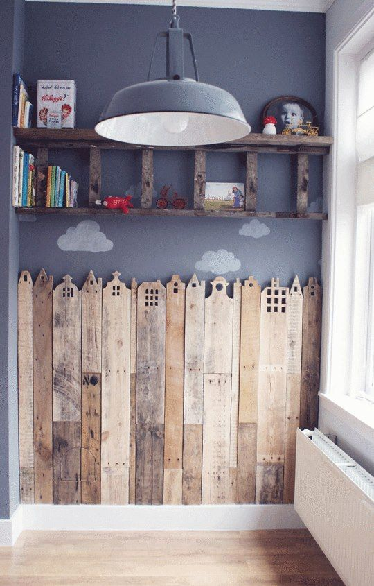 DECO / DIY / Réaliser une frise en bois de récup\u0027 Cela va apporter