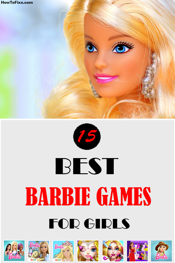 This Barbie doll needs to dress up in the finest Barbie