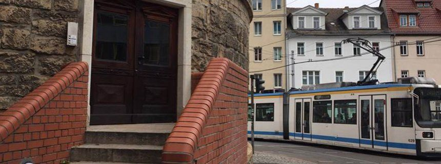 Eingang zur BKR-Kanzlei in Jena