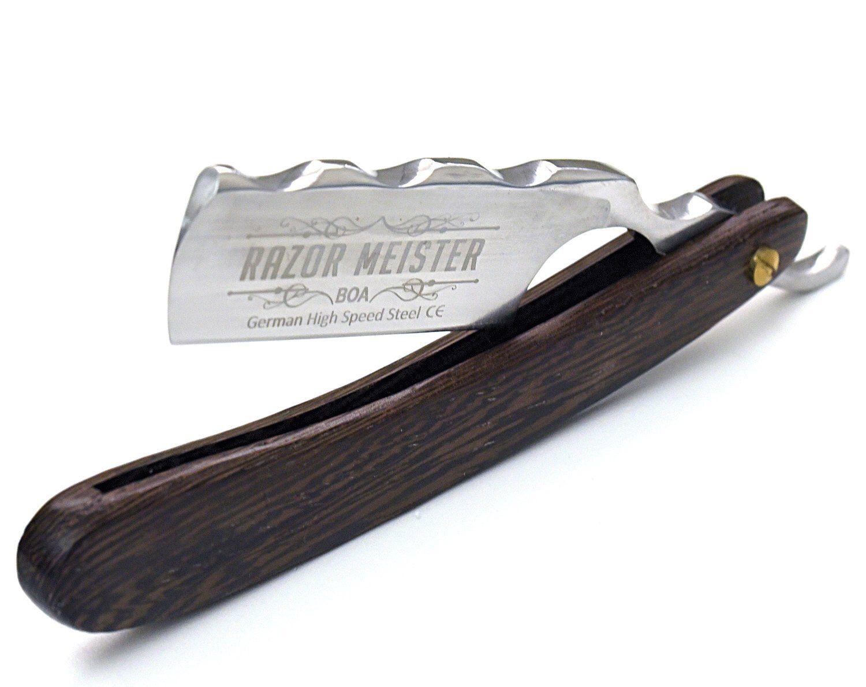 Straight Razor By Razor Meister Boa Acrylic Scales Shave Etsy In 2020 Straight Razor Shaving Straight Razor Straight Razor Shaving Kit