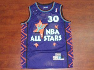 59ec59be8644 95-96 NBA All-Star  30 Scottie Pippen Purple Swingman Classic Basketball  Jersey  F87