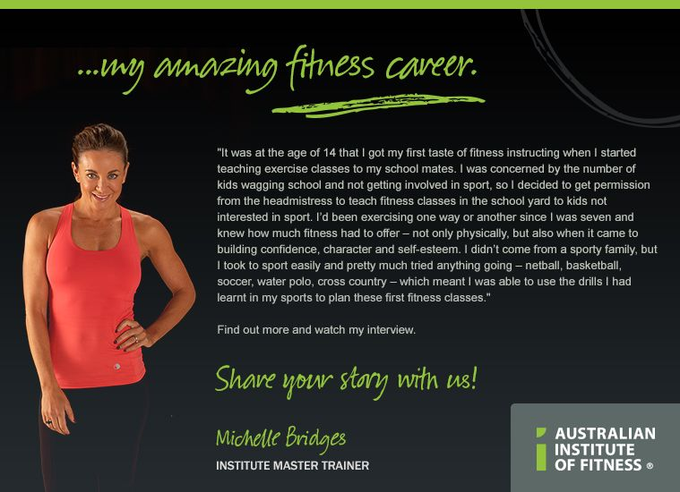 Do you have an amazing fitness story? Share yours at www