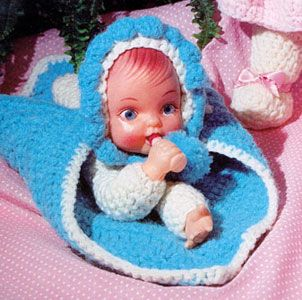Free Crochet Puppet Doll Attached To Blanket Printer