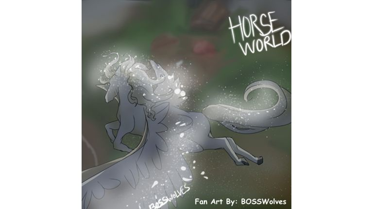 Roblox Horse World Unicorn Group