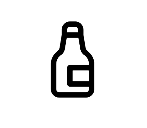 Beer Bottle Icon This Page Contains The Vector Icon As Well As Variations Of This Icon In Different Visual Styles And Related Icons Al Beer Bottle Beer Icon