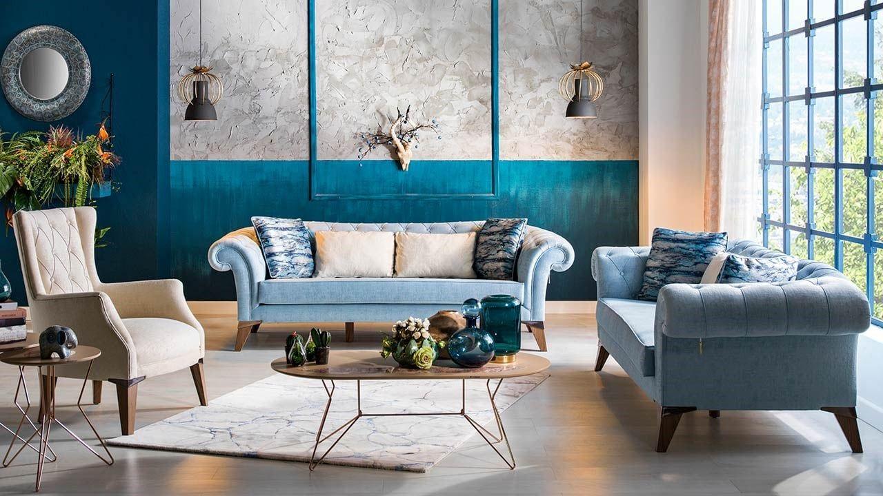 Uyumlu Yeni Moda Renkleri Ile Modern Koltuk Takimlari Mobilya Tasarimi Mobilya Fikirleri Ev Dekorasyon Fikirleri
