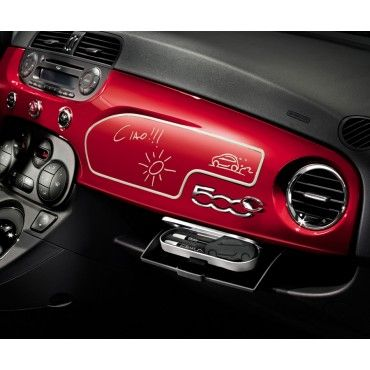 Fiat 500 Whiteboard For Black Dashboard Fiat Co Uk Accessories