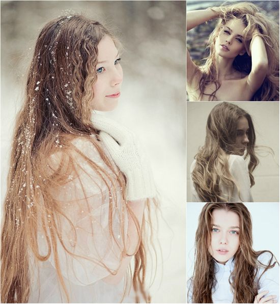 Super Long Hair In Different Colors With Great Length Hair