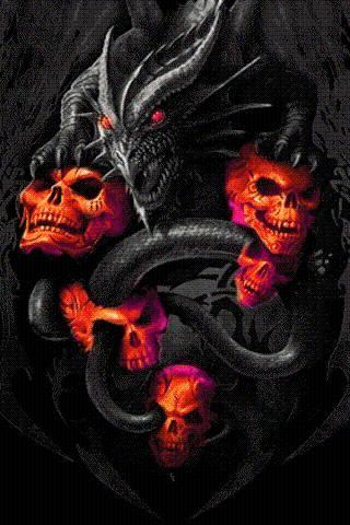 Dragons And Skulls