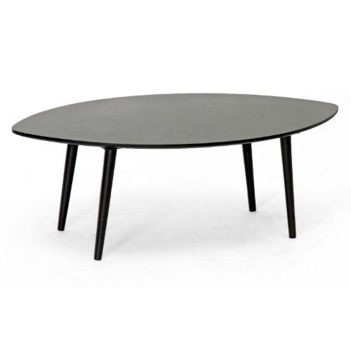 Baxton Studio Griffith Mid Century Modern Coffee Table, Dark Brown By Baxton  Studio.
