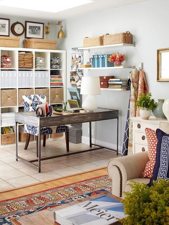 Schicke Wohnzimmer Ideen und Homeoffice Organisationssystem Living - wohnzimmer ideen ikea