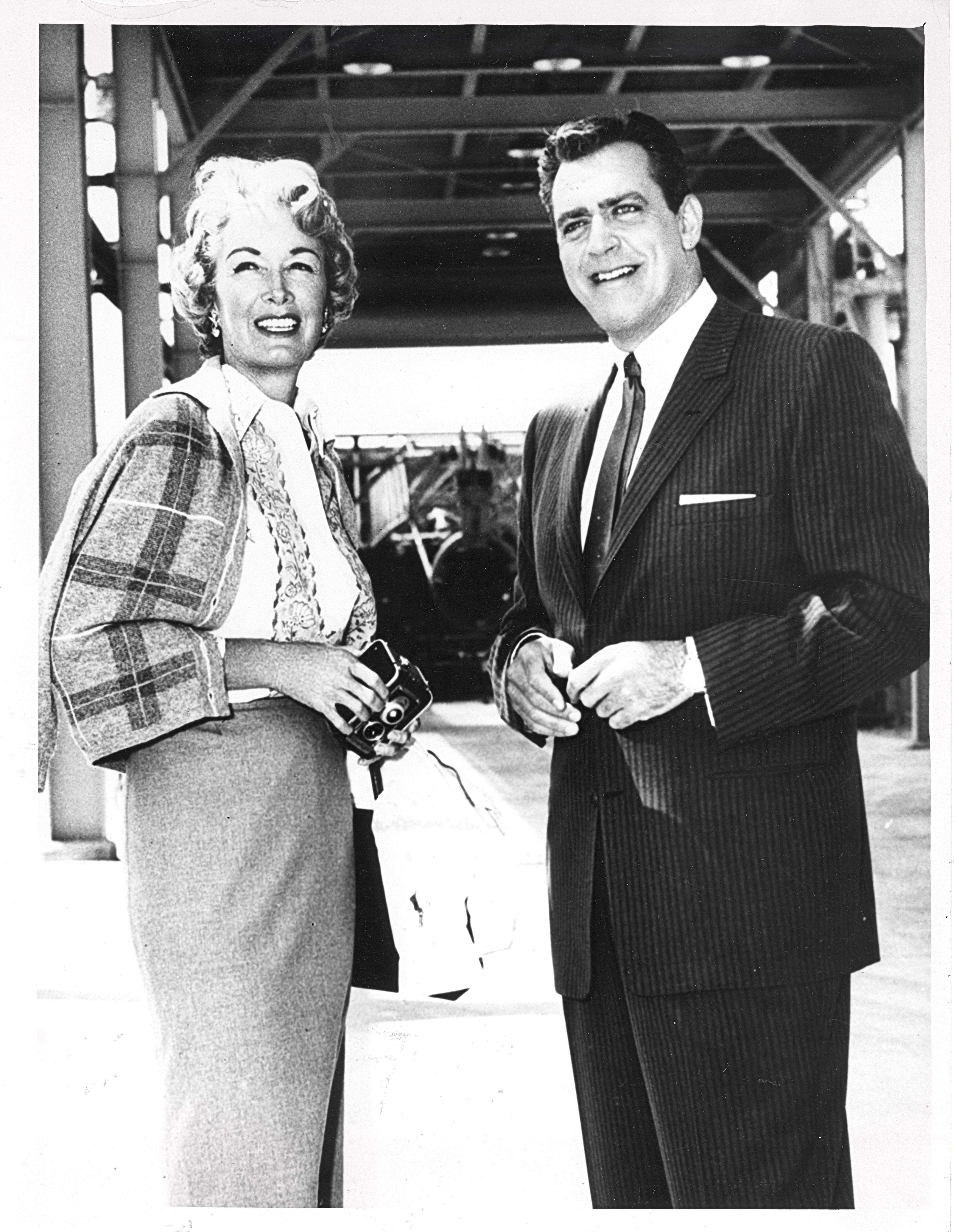 Gail Patrick Executive Producer Of The Perry Mason Tv Series 1957 1966 With Star Raymond Burr From T Perry Mason Perry Mason Tv Series Hollywood Pictures