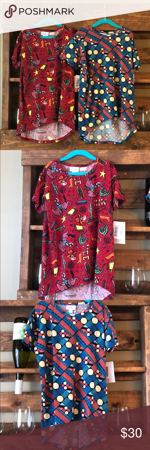 a4323c0cca585 LuLaRoe Gracie Shirts LuLaRoe Gracie Kids t-shirt. NWT. Size 8. Selling