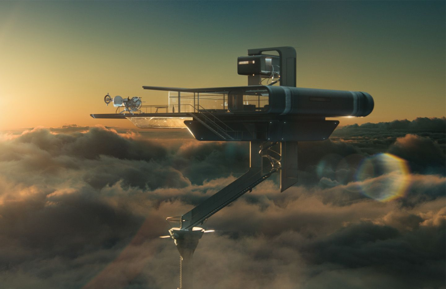 Youll Find Forevertron Behind Sea Of_27 >> My Next House In The Clouds Tom Cruise Oblivion Friday Houses