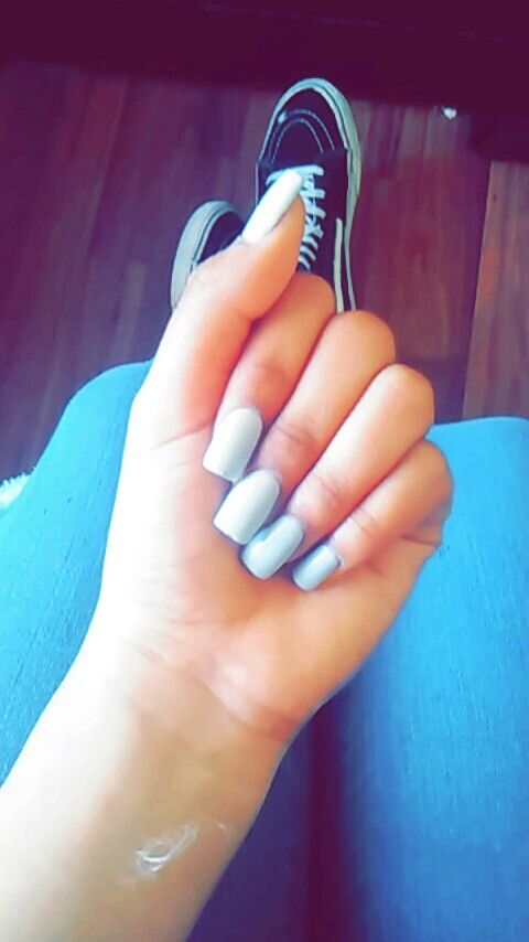 Baby blue matte nails | nails | Pinterest | Blue matte nails and ...
