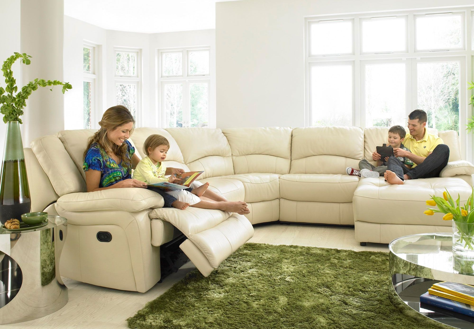 Superbe Corner Group With Recliner Chaise   Ronson   Sofa Sets   Sofas   FREE  Delivery   Furniture Village