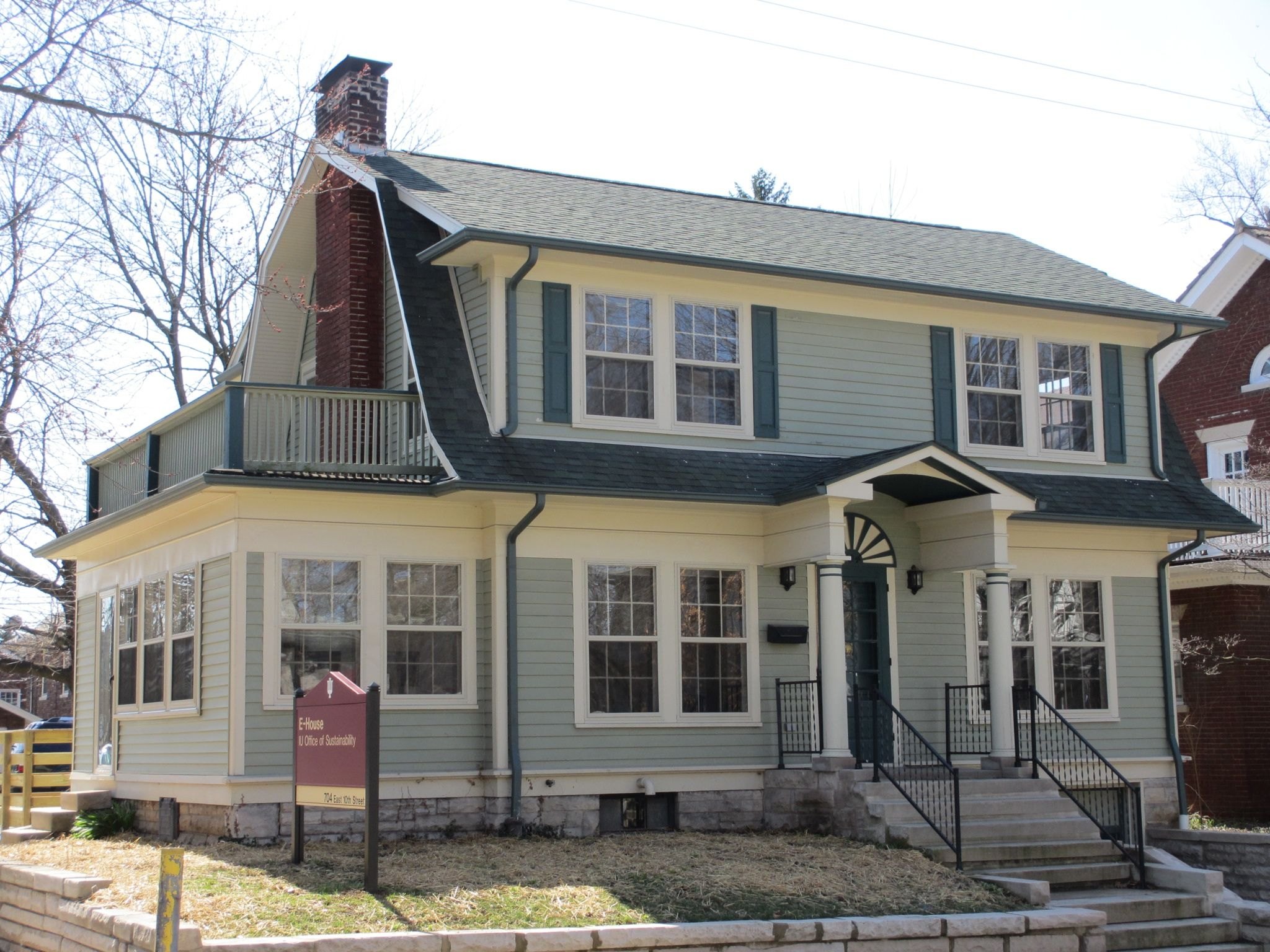 Dutch Colonial Homes 10th St E House Is A 1930s Dutch Colonial Revival