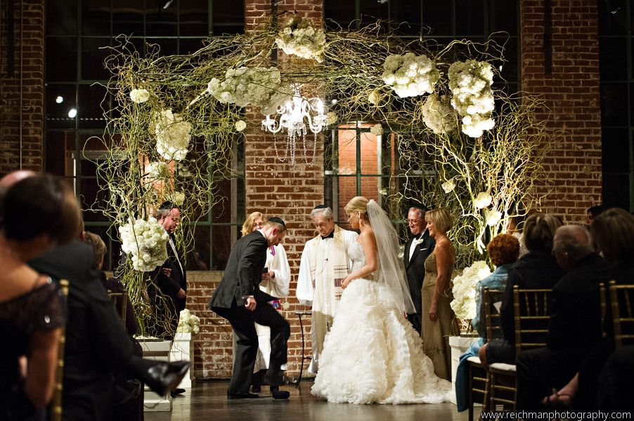Wedding altar - The Foundry at Puritan Mill - Reichman