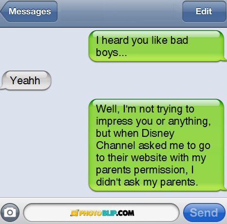 Bad boysss. :)