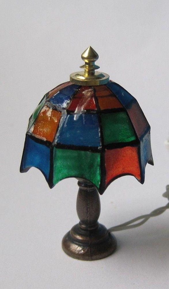 von puppenhaus lampen pinterest puppen puppenhaus miniaturen und miniatur. Black Bedroom Furniture Sets. Home Design Ideas