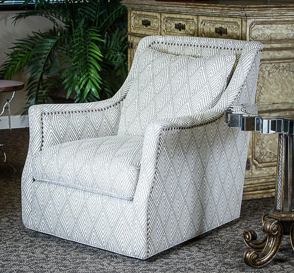 C R Laine Furniture Peaks Linen Marcoux Swivel Chair Cr Laine
