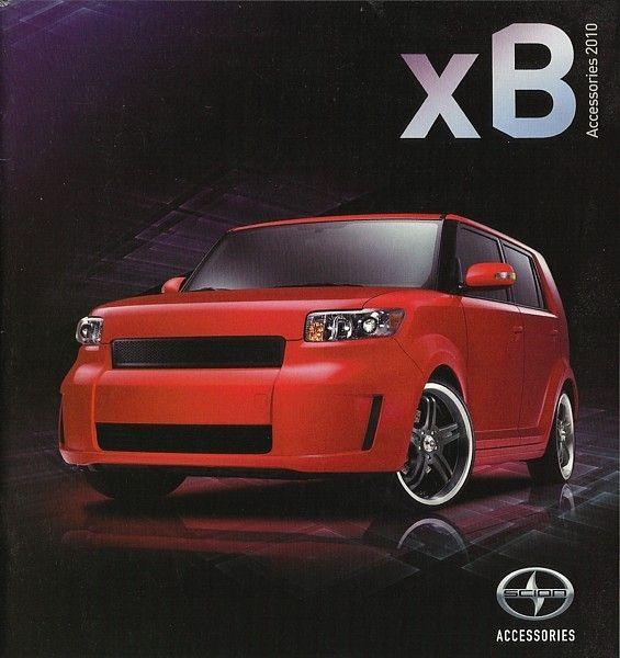 2010 Scion Xb Parts Accessories Brochure Catalog Toyota Trd Scion Xb Scion Trd