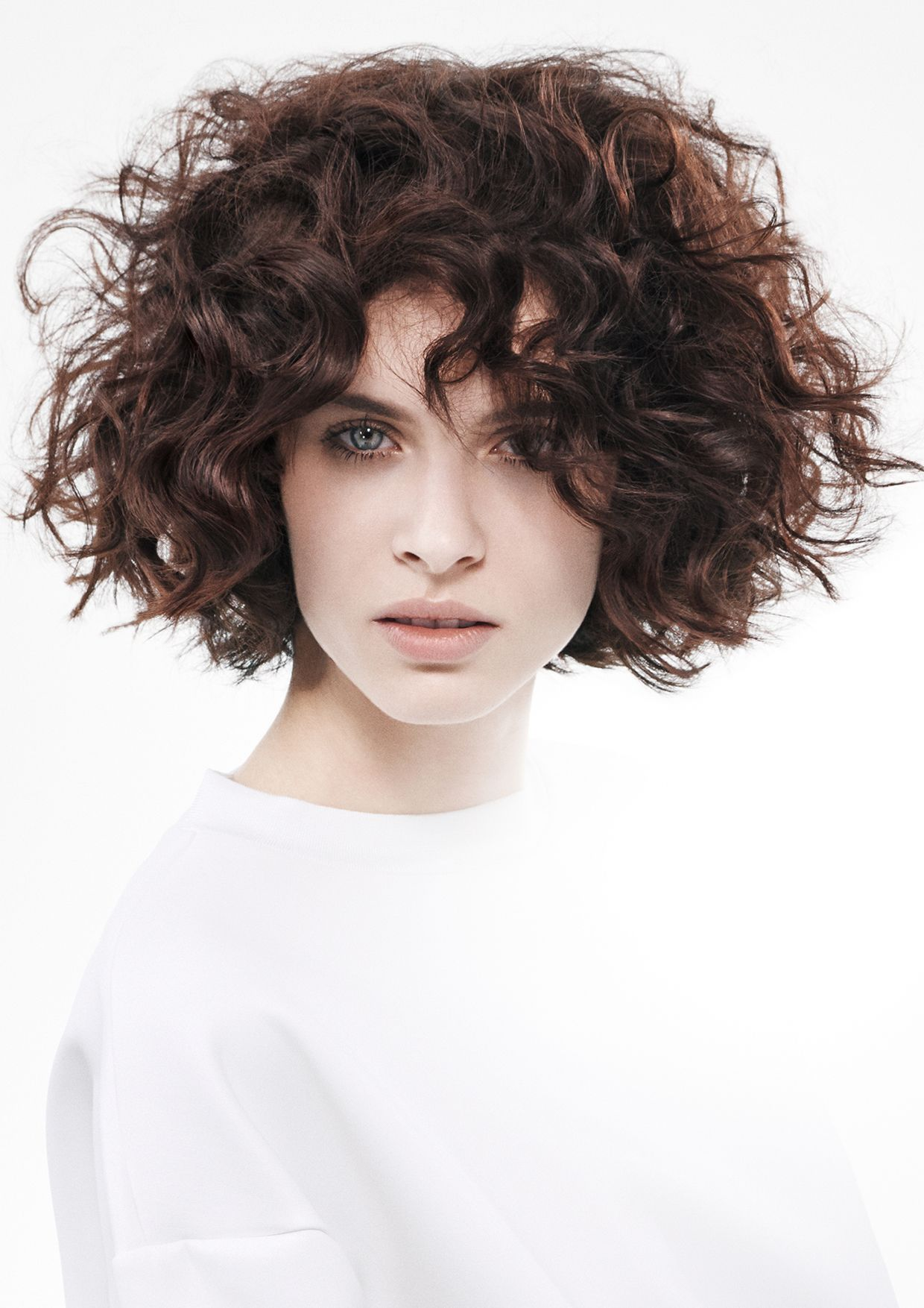 Style De Coiffure Femme Cheveux Mi-long Sassoon Academy Radiant Fw2015 Short Hair Cut