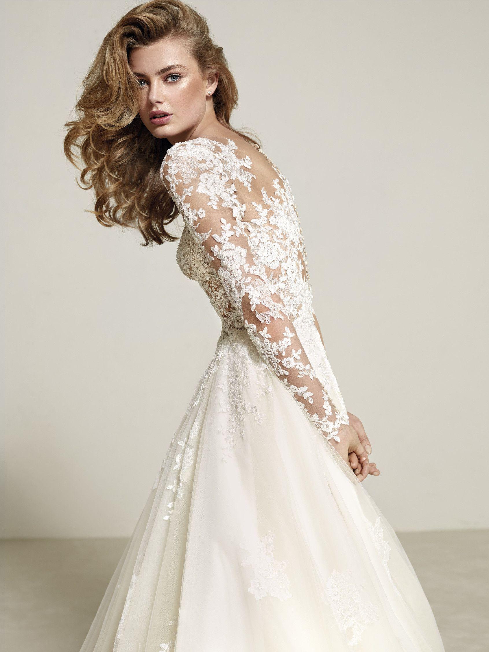 Robe de mariée princesse originale | Engagement | Pinterest ...