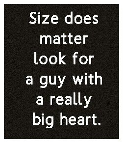 Size does matter, yes. ;)