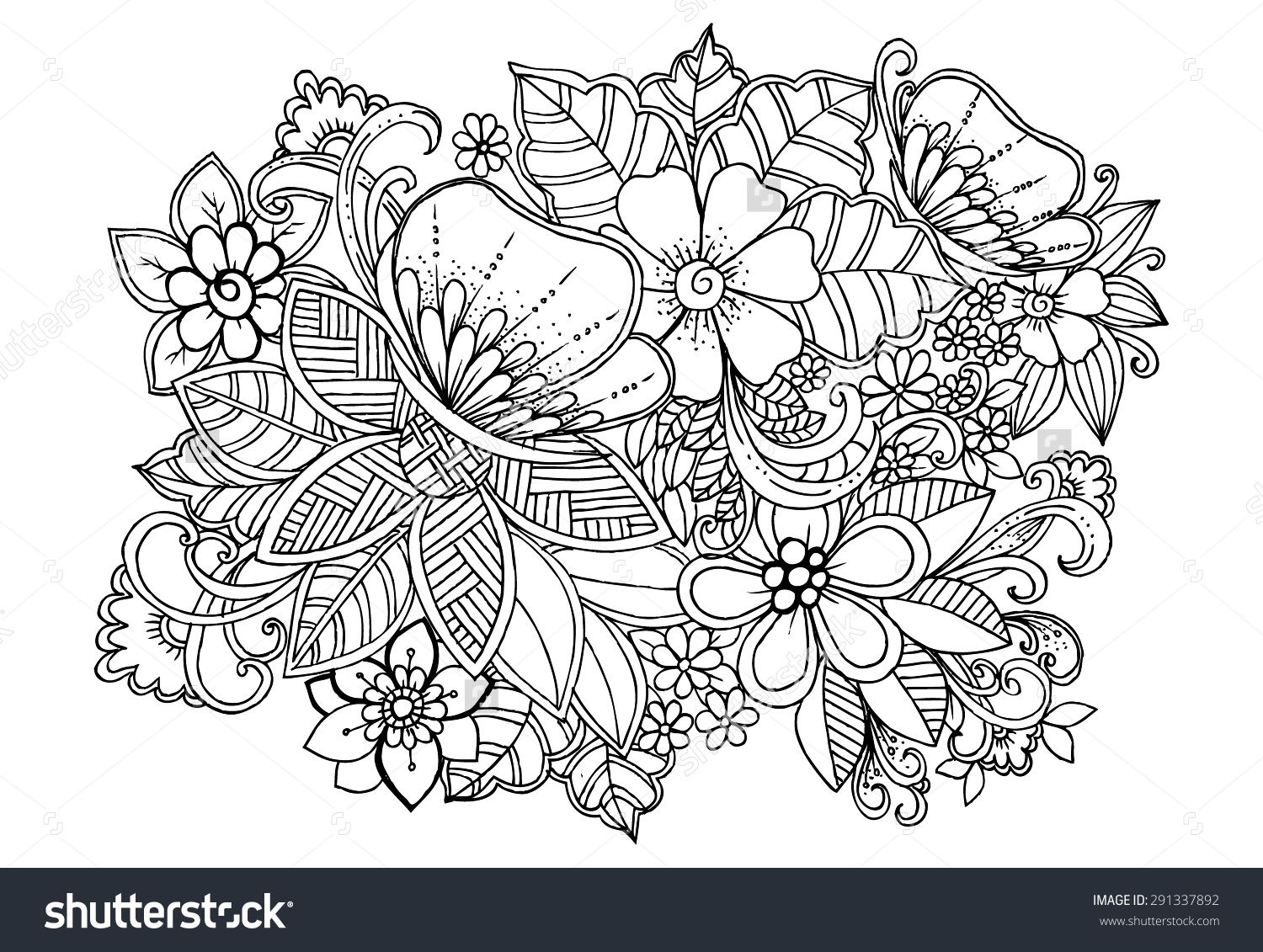 flower zentangle designs - Google Search | My Zentangle Board ...