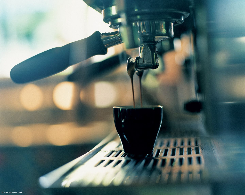 The flavor of life, a shot of espresso.